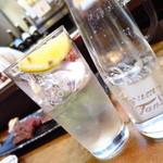 もつ焼 まるい - レモンハイ380円