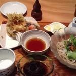季創りそば 膳 奈美喜庵 - 府中もりあげ蕎麦1350円