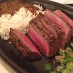 29426815 - 尾崎牛モモ肉のイパネマステーキ