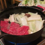 ISSIN JAPANESE RESTAURANT - SUKIYAKI $55.00