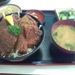 29427663 - ソースカツ丼(ヒレ) 1050円