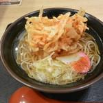 欽太郎うどん - 桜海老掻揚蕎麦