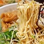 博多っ娘 - ミックスラーメン 麺