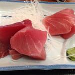 浅草 魚料理 遠州屋 - まぐろぶつのアップ
