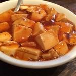 中國麺飯食堂 祥龍房 - 付け合わせ小皿の麻婆