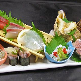 北海道根室一番セリ直送の鮮魚を中心とした鮮度抜群のお魚達!