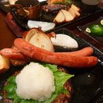 Toshi - おろしそハンバーグ+ソーセージ