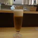 チェルキオ - セットでつけた生ビール(313円)