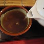 すが原 - 「蕎麦湯」はナチュラル(2014/7)