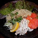 ラーメン くまごり - 鶏塩ジュ冷麺 並540円(税別)
