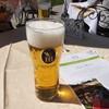 Schlosscafé im Palmenhaus - ドリンク写真:まずはビール