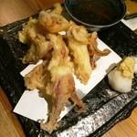 男厨 - イカてんぷら