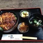 うなぎのなんけ - 2014.8.1 薬味丼