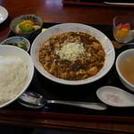 中国料理 凰華 - 陳麻婆豆腐定食