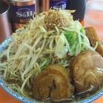 29445375 - 豚醤油(野菜増・カラメ)マウンテンビュー^^;