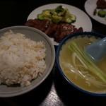 真助 - 牛タン定食(1.5人前)
