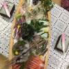 勝雄館 - 料理写真:舟盛りが過去最大