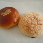 パンやきどころ RIKI - あんぱん140円♪メロンパン130円♪