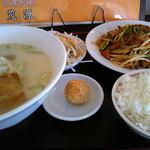台湾料理 茂源 - レバニラセット