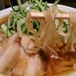 麺匠ぼんてん - 冷やし(醤油・太麺)