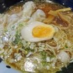 29449219 - 「肉玉雲呑麺」(800円)