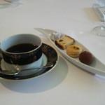 ラ プリュム ローズ - 小菓子とコーヒー