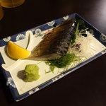 めだか - 炙り〆鯖550円