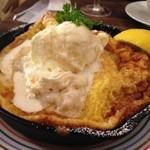 マーブルブランカフェ - バターシュガーレモンメイプルパンケーキ