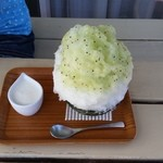 埜庵 - ヨーグルト練乳&キウイリンゴ2014年