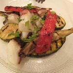 ボッソ - たことグリル野菜