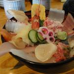 ひら井 - 海鮮丼魚卵抜き