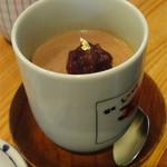 ひら井 - 棒茶プリン