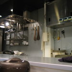 カレーの龍 - 厨房