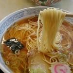 清水屋 - ラーメン(カツ丼セット)