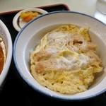 清水屋 - カツ丼(カツ丼セット)