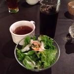 スミヤ - ランチ サラダ スープ ドリンク