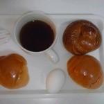 ロイヤルメイフラワー仙台 - 朝食(盛付け一例)【2014年3月撮影】