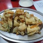タンタン パートⅢ - 野菜きのこかき揚げ 250円