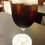 銀座みゆき館 - カフェグラッセ(アイスコーヒー)