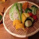 いづみ家 - 蒸し野菜