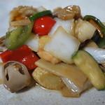 中国料理 洋明 - 八宝菜(1000円)2014年8月
