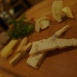 ザ ヌーク - チーズプレート