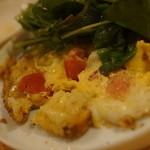 ザ ヌーク - チーズとトマトのキッシュ風