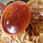 うどん福松 - 僕の『福松定食(温かいうどん)刺身付』780円。8