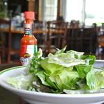 キッチンノート - 料理写真:夏季限定 ハーブサラダ