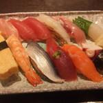 水神 - にぎり寿司1.5倍