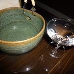 日本酒×和創作料理 香酒 鞘 - 鍋島-SUMMER MOON- 一合741円