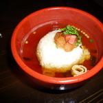 日本酒×和創作料理 香酒 鞘 - 梅出汁茶漬510円