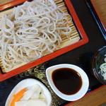 蕎麦 香寿庵 - 高遠そば(¥800税込み)