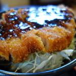 蕎麦 香寿庵 - ソースカツ丼(¥980税込み)眩しい~(^^)